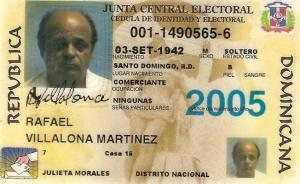 La Cedula Dominicana, the Dominican ID